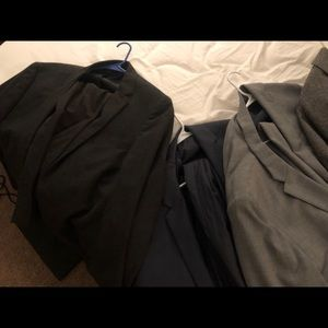 Five J. crew suits and two free blazers!